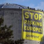 Greenpeace dans la centrale de Fessenheim