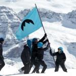Drapeau de la République glaciaire