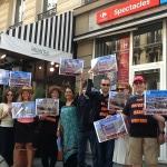 Non au tourisme en Israél