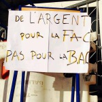 Mobilisation à l'Université Paris 8