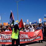 """Manifestation contre le navire de """"l'apartheid"""""""