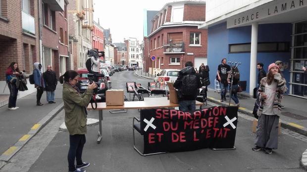 Le MEDEF d'Amiens délogé